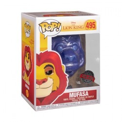 Figurine Pop Lion King Spirit Mufasa Translucide Glitter Edition Limitée Funko Boutique Geneve Suisse
