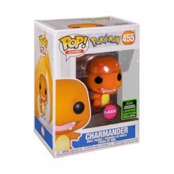 Figur Pop ECCC 2020 Flocked Pokemon Charmander Limited Edition Funko Geneva Store Switzerland