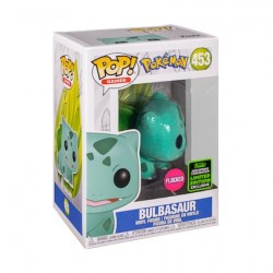 Figur Pop ECCC 2020 Flocked Pokemon Bulbasaur Limited Edition Funko Geneva Store Switzerland