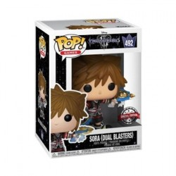 Figurine Pop Kingdom Hearts III Sora with Dual Blasters Edition Limitée Funko Boutique Geneve Suisse