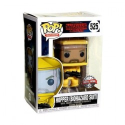 Figurine Pop TV Stranger Things Hopper in Biohazard Suit Edition Limitée Funko Boutique Geneve Suisse
