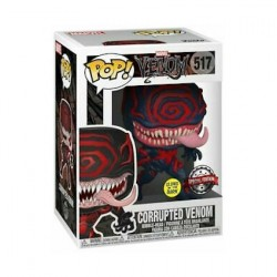 Figurine Pop Phosphorescent Marvel Venom Corrupted Edition Limitée Funko Boutique Geneve Suisse
