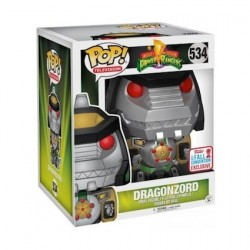 Figur Pop 15 cm NYCC 2017 Power Rangers Green Dragonzord Limited Edition Funko Geneva Store Switzerland