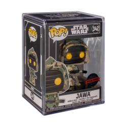 Figuren Pop Futura Star Wars Jawa mit Acryl Schutzhülle Limitierte Auflage Funko Genf Shop Schweiz