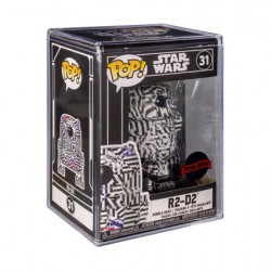 Figur Pop Futura Star Wars R2-D2 with Hard Acrylic Protector Limited Edition Funko Geneva Store Switzerland