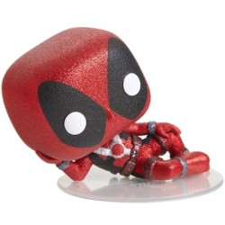 Figurine Pop Diamond Marvel Deadpool Glitter Edition Limitée Funko Boutique Geneve Suisse