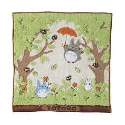 Figurine Mon voisin Totoro Serviette de Toilette Mains Shade of the Tree 25 x 25 cm Benelic - Studio Ghibli Boutique Geneve S...
