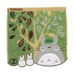 Figuren Mein Nachbar Totoro Mini-Handtuch Acorn Tree 25 x 25 cm Benelic - Studio Ghibli Genf Shop Schweiz