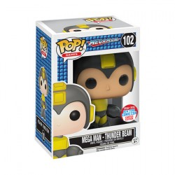 Figurine Pop NYCC 2016 Power Beam Mega Man Edition Limitée Funko Boutique Geneve Suisse