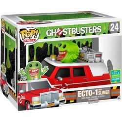 Figur Pop SDCC 2016 Movies Ghostbusters Ecto 1 with Slimer Limited Edition Funko Geneva Store Switzerland