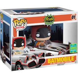 Figurine Pop SDCC 2016 DC Silver 66 Batmobile Edition Limitée Funko Boutique Geneve Suisse