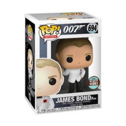 Figurine Pop James Bond Daniel Craig Spectre Edition Limitée Funko Boutique Geneve Suisse
