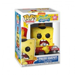 Figurine Pop Spongebob with Band Edition Limitée Funko Boutique Geneve Suisse