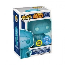 Pop Glow in the Dark Star Wars Holographic Emperor