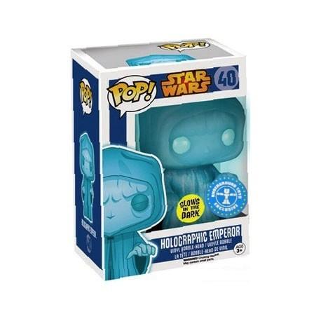 Figur Pop Glow in the Dark Star Wars Holographic Emperor Funko Geneva Store Switzerland