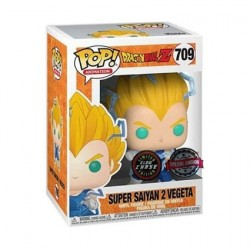 Figurine Pop Phosphorescent Dragon Ball Z Vegeta Super Saiyan 2 Chase Edition Limitée Funko Boutique Geneve Suisse