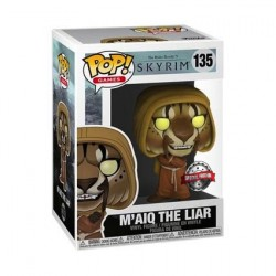 Figurine Pop The Elder Scrolls V Skyrim M'aiq the Liar Edition Limitée Funko Boutique Geneve Suisse