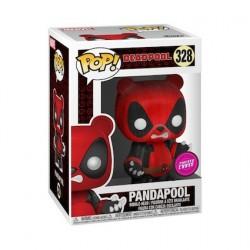 Figuren Pop Flockierte Marvel Deadpool Pandapool Chase Limitierte Auflage Funko Genf Shop Schweiz