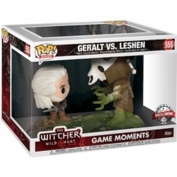 Figur Pop The Witcher 3 The Wild Hunt Geralt vs Leshen Movie Moment Limited Edition Funko Geneva Store Switzerland