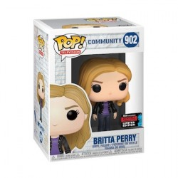 Figurine Pop NYCC 2019 Community Britta Perry Edition Limitée Funko Boutique Geneve Suisse