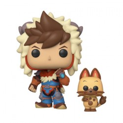 Figur Pop Monster Hunter Stories Lute and Navirou Funko Geneva Store Switzerland