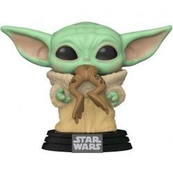 Figur Pop Star Wars The Mandalorian The Child with Frog (Baby Yoda) Funko Geneva Store Switzerland
