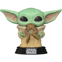 Figurine Pop Star Wars The Mandalorian The Child with Frog (Baby Yoda) Funko Boutique Geneve Suisse