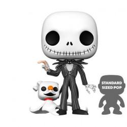 Figur Pop 10 inch The Nightmare Before Christmas Jack with Zero Funko Geneva Store Switzerland