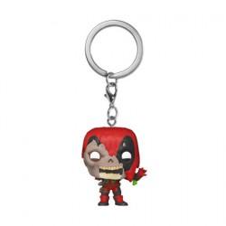 Figurine Pop Pocket Porte-clés Marvel Zombies Deadpool Funko Boutique Geneve Suisse