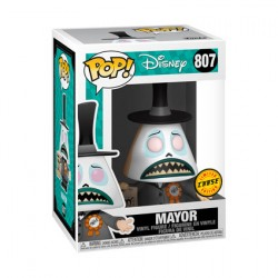 Figurine Pop The Nightmare Before Christmas Mayor with Megaphone Chase Edition Limitée Funko Boutique Geneve Suisse