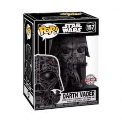 Figur Pop Futura Star Wars Darth Vader Hard Acrylic Protector Limited Edition Funko Geneva Store Switzerland
