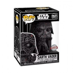 Figurine Pop Futura Star Wars Darth Vader avec Boîte de Protection Acrylique Edition Limitée Funko Boutique Geneve Suisse