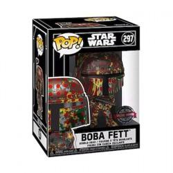 Figurine Pop Futura Star Wars Boba Fett avec Boîte de Protection Acrylique Edition Limitée Funko Boutique Geneve Suisse
