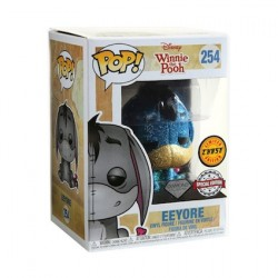 Figurine Pop Diamond Winnie the Pooh Eeyore Glitter Chase Edition Limitée Funko Boutique Geneve Suisse