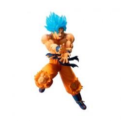 Figurine Dragon Ball Statuette Super Saiyan Son Goku 19 cm Bandai Boutique Geneve Suisse