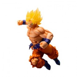 Figur Dragon Ball Statue Super Saiyan Son Goku 93' 19 cm Bandai Geneva Store Switzerland