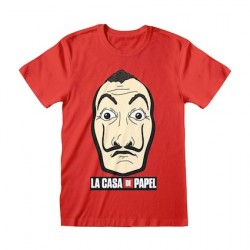 Figuren T-Shirt Haus des Geldes Mask & Logo GedaLabels Genf Shop Schweiz