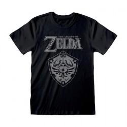 Figuren T-Shirt Legend Of Zelda Distressed Shield GedaLabels Genf Shop Schweiz