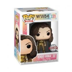 Figurine Pop Métallique Wonder Woman 1984 sans Casque Edition Limitée Funko Boutique Geneve Suisse