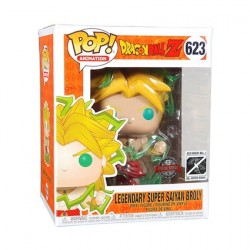 Figurine Pop 15 cm Dragon Ball Z Super Saiyan 2 Broly Edition Limitée Funko Boutique Geneve Suisse