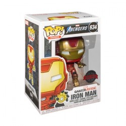 Figur Pop Marvel's Avengers (2020) Iron Man in Space Suit Limited Edition Funko Geneva Store Switzerland