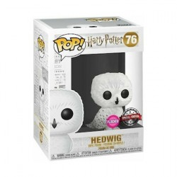 Figur Pop Flocked Harry Potter Hedwig Limited Edition Funko Geneva Store Switzerland