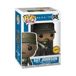 Figurine Pop Games Halo Sgt Johnson Chase Edition Limitée Funko Boutique Geneve Suisse
