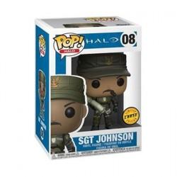 Figurine Pop Games Halo Sgt Johnson Edition Limitée Chase Funko Boutique Geneve Suisse