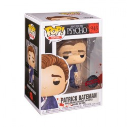 Figurine Pop American Psycho Patick in Suit with Knife Edition Limitée Funko Boutique Geneve Suisse