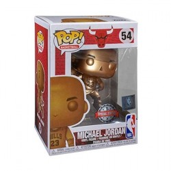 Figurine Pop Basketball NBA Bulls Michael Jordan Bronzed Edition Limitée Funko Boutique Geneve Suisse