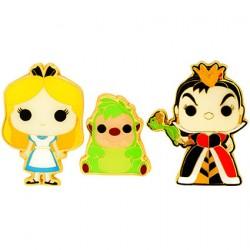 Figuren Pop Pins Disney Alice In Wonderland Alice Queen Of Hearts & Hedgehog Limitierte Auflage Funko Genf Shop Schweiz