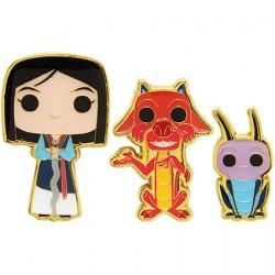 Figurine Pop Pins Disney Mulan Mushu & Cri-Kee Edition Limitée Funko Boutique Geneve Suisse