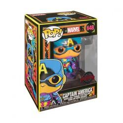 Figuren Pop Marvel Blacklight Captain America Limitierte Auflage Funko Genf Shop Schweiz