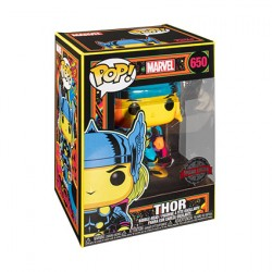 Figurine Pop Marvel Blacklight Thor Edition Limitée Funko Boutique Geneve Suisse